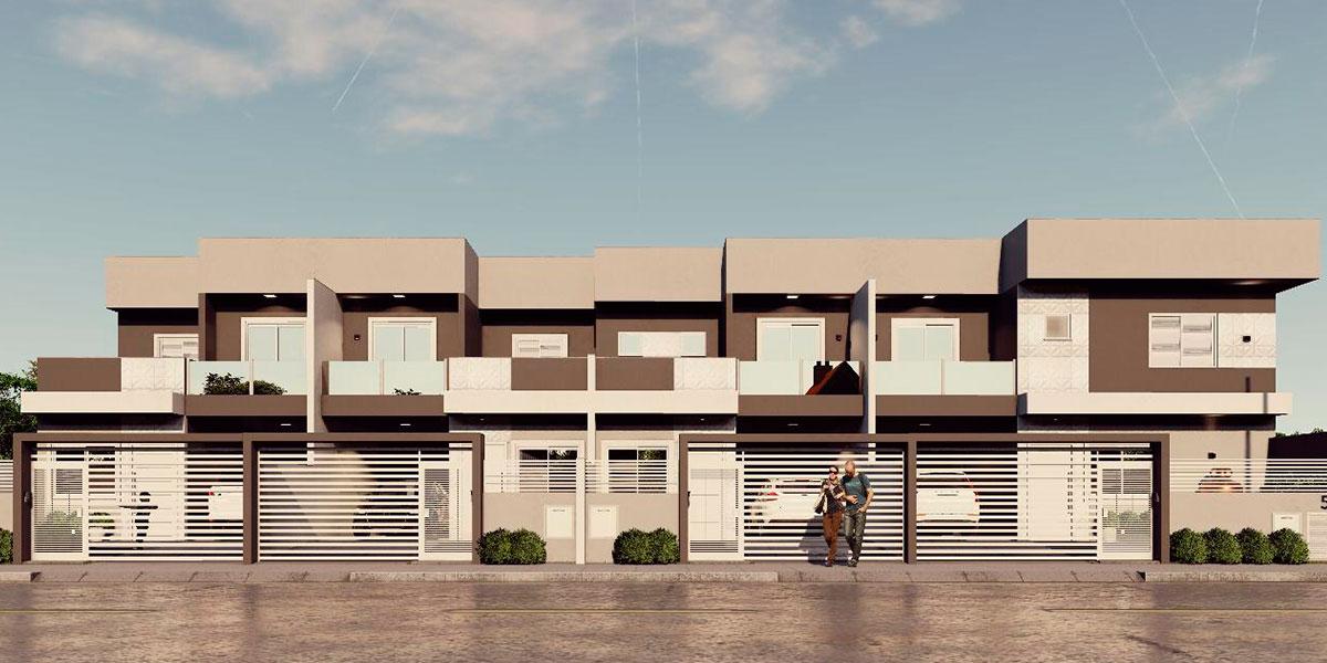 Residencial Arezzo - Casa Geminada