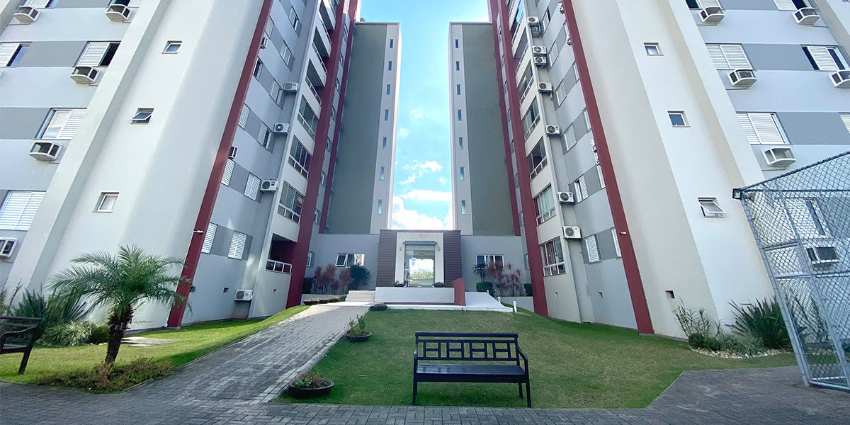 Apartamento no Residencial Salomon Hubbe